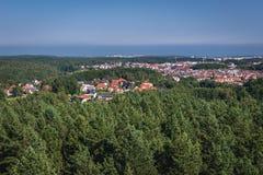 Gdynia en Pologne Images libres de droits