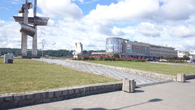 Gdynia landmarks. Royalty Free Stock Images