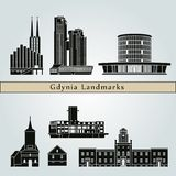 Gdynia landmarks Royalty Free Stock Photography