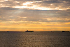 Gdynia mooring Stock Images
