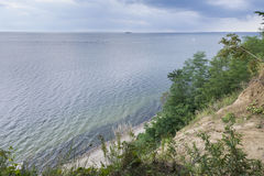 Gdynia Orlowo seaside Royalty Free Stock Photography