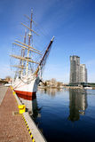 Gdynia Port Royalty Free Stock Photography