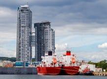 Gdynia Port Morski Obrazy Stock