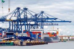 Gdynia. Sea port Royalty Free Stock Photography