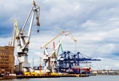 Gdynia. Sea port Royalty Free Stock Image