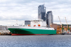 Gdynia. Sea port Royalty Free Stock Images