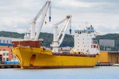 Gdynia. Sea port Royalty Free Stock Photo