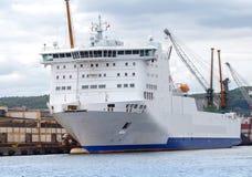 Gdynia. Sea port Royalty Free Stock Photos