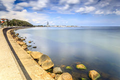 Gdynia sea shore, Poland Stock Photography
