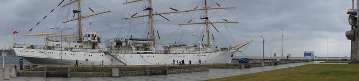 gdynia ship arkivbild