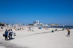 Gdynia stad. Royaltyfria Foton