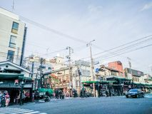 Gdzieś w Kyoto obrazy stock
