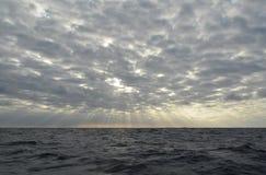 Gdzieś w oceanie zdjęcie royalty free