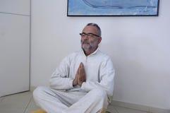 Gdziekolwiek medytować i relaksować możesz ty zdjęcia stock