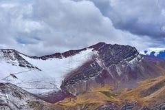 Geätzte Berge stockbild