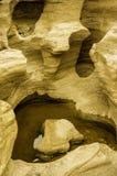 Geërodeerdec rotsvorming Stock Afbeelding