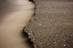 Geërodeerdk zand Royalty-vrije Stock Afbeeldingen