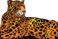 Geïllustreerdei jaguar Royalty-vrije Stock Foto's