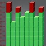 Geïllustreerdeu pixelequaliser royalty-vrije illustratie