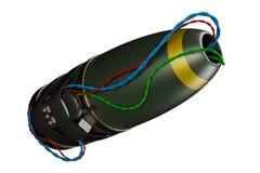 Geïmproviseerd explosiemiddel (I e D ) Stock Foto's