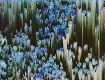 Geïnspireerd schilderen Royalty-vrije Stock Afbeeldingen