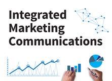 geïntegreerde publicitaire mededelingen (IMC) stock afbeelding
