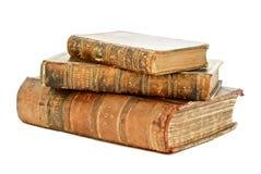 Geïsoleerd Antiek Boek Stock Fotografie