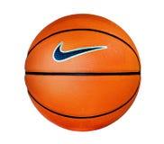 Geïsoleerd basketbal op een whi Royalty-vrije Stock Foto