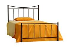 Geïsoleerd bed   Stock Foto's