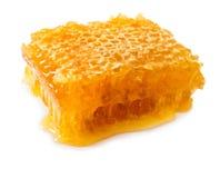 Geïsoleerd beeld van honing stock foto
