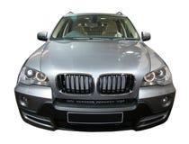 Geïsoleerd BMW in tentoonstelling AutoExpo Stock Foto's