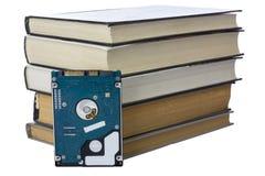 Geïsoleerd boek Stock Foto's