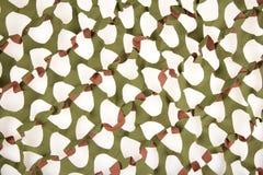 Geïsoleerd camouflage netto royalty-vrije stock foto's