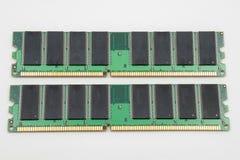 Geïsoleerd computergeheugen Royalty-vrije Stock Foto's