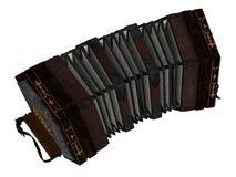 Geïsoleerd concertina Royalty-vrije Stock Foto's