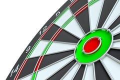 Geïsoleerd dartboard, Stock Foto