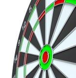 Geïsoleerd dartboard, Royalty-vrije Stock Foto