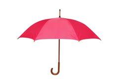 Geïsoleerd deel van paraplu stock foto