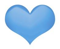 Geïsoleerd hartsymbool Stock Afbeelding