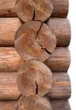 Geïsoleerd houten royalty-vrije stock foto's
