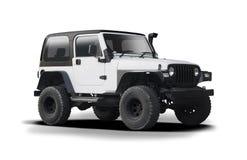 Geïsoleerd Jeep Wrangler Royalty-vrije Stock Foto's