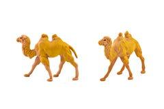 Geïsoleerd kameelstuk speelgoed Royalty-vrije Stock Foto
