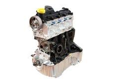 Geïsoleerd motor van een autodeel Stock Foto's