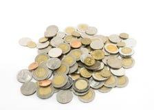 Geïsoleerd muntstuk Royalty-vrije Stock Foto