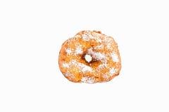 Geïsoleerd om doughnut Stock Afbeeldingen