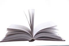 Geïsoleerd open boek Stock Afbeeldingen