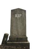 Geïsoleerd RIP-Graf stock fotografie