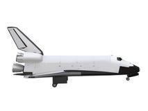 Geïsoleerd ruimteveer Royalty-vrije Stock Fotografie