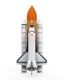 Geïsoleerd ruimteveer Stock Foto