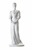 Geïsoleerd standbeeld van Keizerin Elisabeth II van Oostenrijk in Korfu bij royalty-vrije stock fotografie